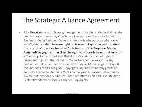 Copyright and Righthaven: Enforcement Gone Wrong - Davis McGrath LLC IP Webinar Series