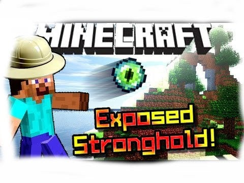 Minecraft PS4 Seed: Exposed StrongHold!