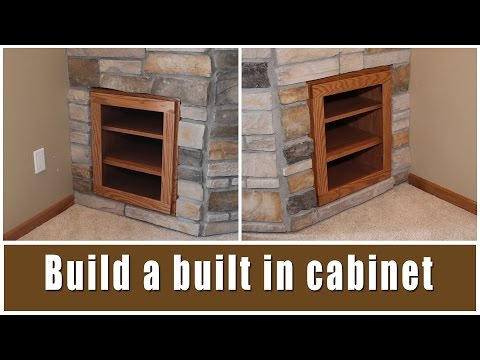 DIY Fireplace Built-In Cabinets | Glass Impressions