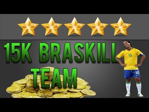 FIFA 13 Ultimate Team | 15k Cheap 5 Star Skill Team | Squad Builder #6