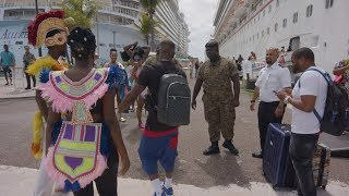 Dababy on his first cruise with no security