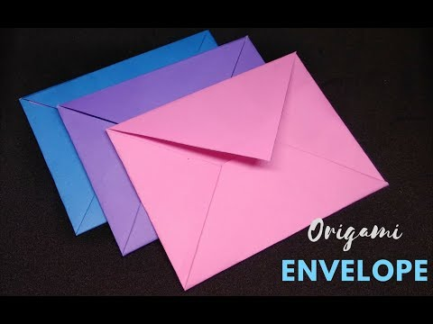 How to Make a Paper Envelope Without Glue | Mini Envelope | Scrapbooking | Craftastic
