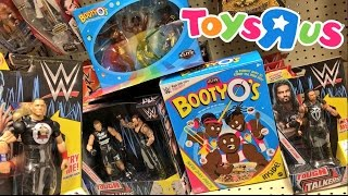 INSANE WWE CHRISTMAS TOY SHOPPING FREAKOUT! FAT GUY ROASTS WWE TOUGH TALKERS AND ELITES AT TOYSRUS!