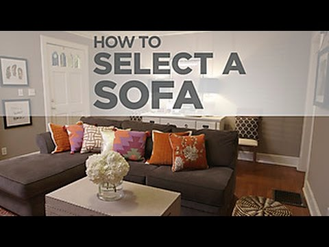 Budget Decorating Tips on Selecting a Sofa