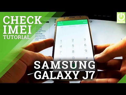 How to Check IMEI in SAMSUNG Galaxy J7 (2016) - IMEI Tutorial