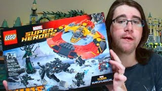 The Ultimate Battle for Asgard 76084 Marvel Thor Ragnarok LEGO Review