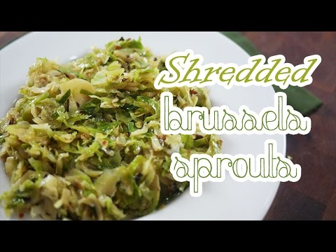 Shredded Brussels Sprouts | LOW CARB