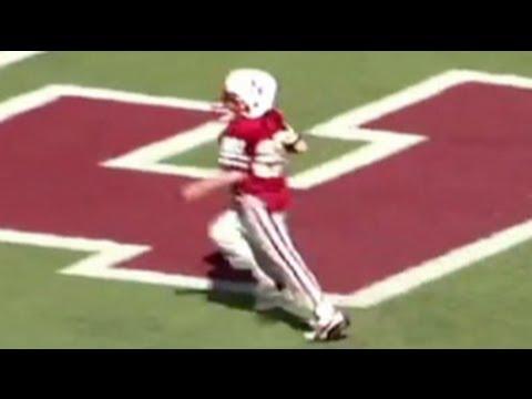 Jack Hoffman 69 yard touchdown run, Nebraska Football