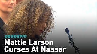 Larson to Nassar: