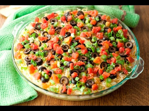 Seven layer dip recipe - How to Make Seven Layer Dip