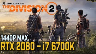 Nvidia RTX 2080 Ti the division 2 beta benchmarks Videos