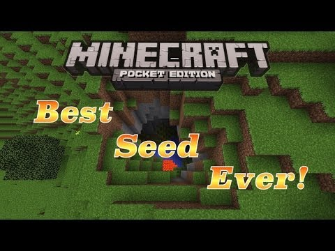 Minecraft Pocket Edition 0.8.1 Best Seed Ever!!!
