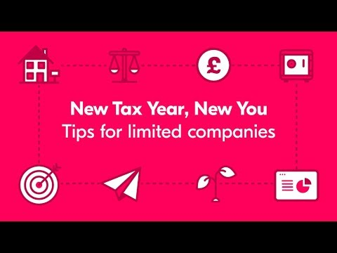 New Tax Year, New You - Webinar for limited companies