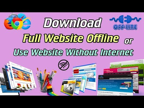 Download Whole Website Offline Or Use Website Without Internet ( Hindi )