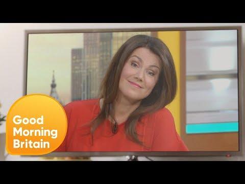 Good Morning Britain Explosion - Susanna | Good Morning Britain