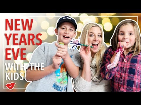 New Years Eve With The Kids! Tips & Tricks For Entertaining Kiddos |  Kimmy from Millennial Moms