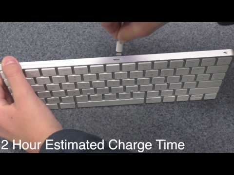 How to charge an Apple keyboard or mouse