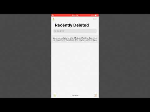 iPhone Notes Disappeared – How to Recover Deleted Notes on iPhone
