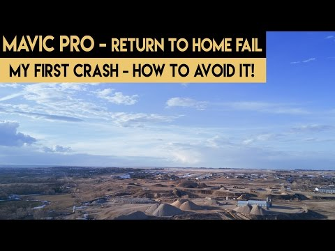 Mavic Pro for Beginners   My First Crash   How to Avoid It!