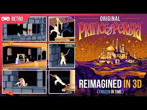 Original (1989) Prince of Persia reimagined in 3D!