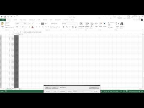 How to draw a circle in Excel