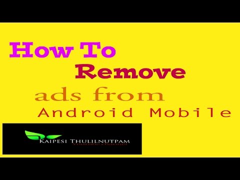 ( Tamil ) How to Remove ads from your Android mobile
