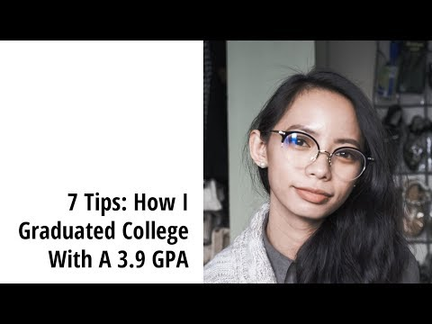 7 Tips: How I Graduated College With A 3.9 GPA