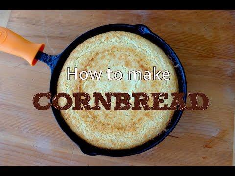 How to Make Moist Sweet Cornbread