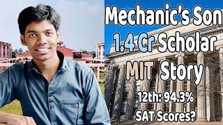 Most Inspiring IIT to MIT Journey | Son of Mechanic: 1.4 Cr Scholar | Ayush Sharma