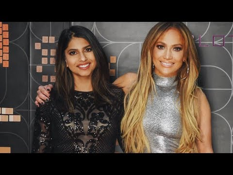 OMG!!! I met JLO and she was...