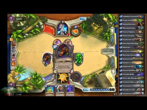Hearthstone Ranked Matches ~ Episode 4 - With Immortal Phoenix ~ HD Live Stream