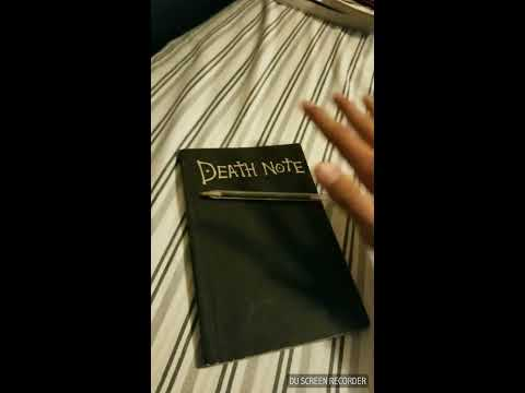 Como usar la Death Note en la vida real - How to use Death Note in real life