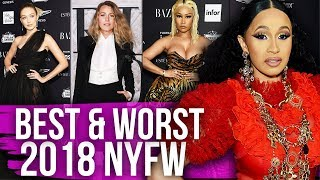 Best & Worst Dressed New York Fashion Week 2018 (Dirty Laundry)