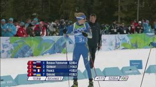 Biathlon Women 4x6KM Relay Complete Event   Vancouver 2010