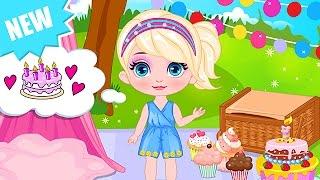 Baby Barbie Game Movie - Baby Barbie Birthday Picnic - Dora the Explorer