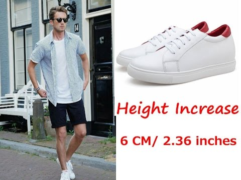 Chamaripa Height Increasing Sneaker Lifting Shoes that make You Taller