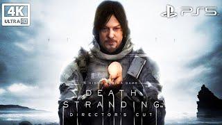 DEATH STRANDING: THE DIRECTOR'S CUT All Cutscenes (Game Movie) 4K 60FPS Ultra HD