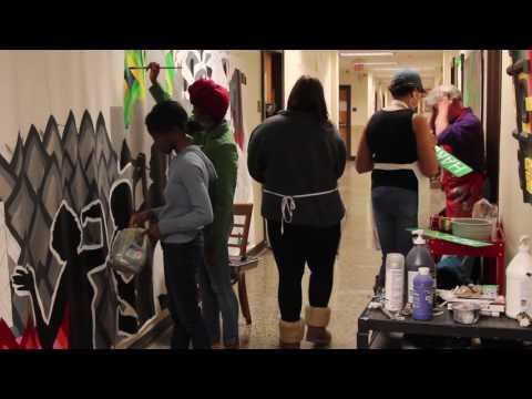 NCCU Art Students Take on