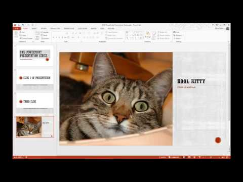 How to Save a PowerPoint Presentation as a Slideshow