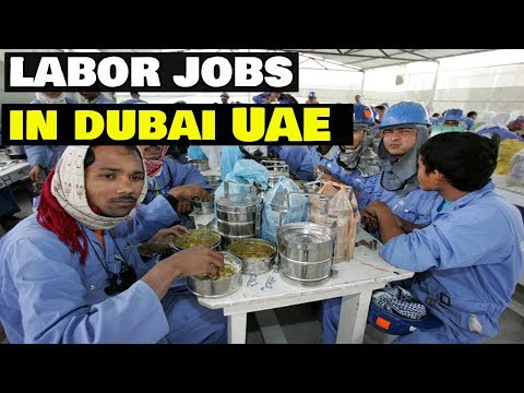 Get a Helper, Labor & Cleaner Job In Dubai