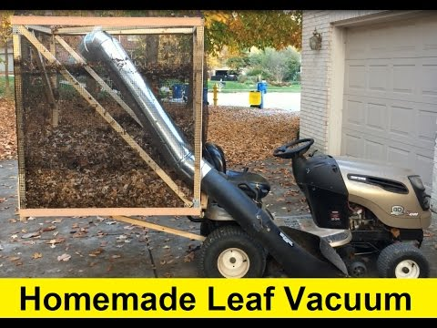 How to Build a Homemade Leaf Vacuum for $50 - DIY