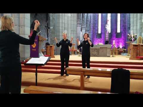 Amazing Grace ISL( Irish Sign Language) Hands in Harmony
