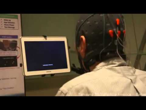 technology 2014 Samsung Tests Tablet Controlled by Brain Activity Review & Demo promot