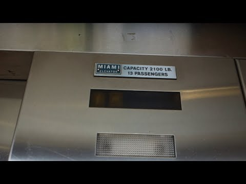 1980's Miami Elevator / Dover Hydraulic Elevator @ 3901 NW 79 AVE, Doral, FL, USA.