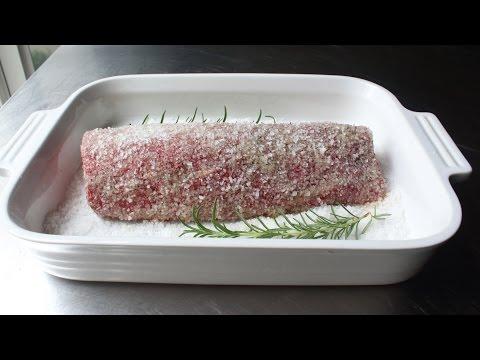 Salt Crusted Beef Tenderloin - How to Make Beef Tenderloin in a Salt Crust