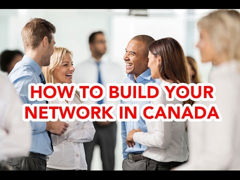 Immigration to Canada: How to build your network in new country