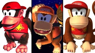 The Evolution of Diddy Kong (1994-2017)