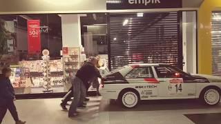 B group Audi rally car - Galeria Świdnicka