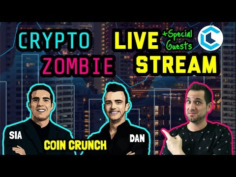 Crypto Zombie x Coin Crunch | LIVE Stream | Cryptocurrency Chat: Best Practices And How To Spot Gems
