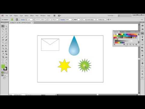How to Draw Shapes in Illustrator